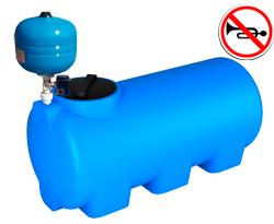 Баки с насосом R для подачи вод от производителя baki.spb.ru