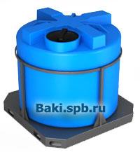 Емкости в обрешетке от  производителя baki.spb.ru